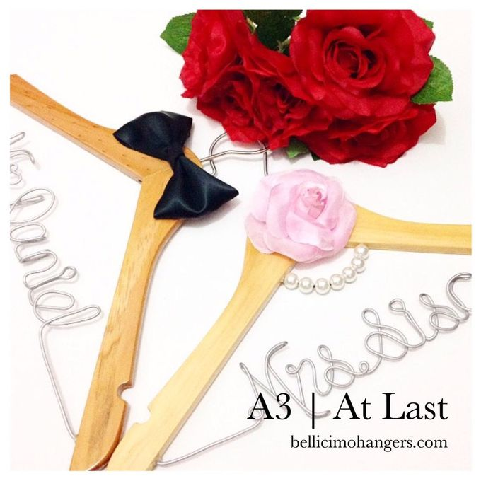 Couple Package by Bellicimo Hangers by Béllicimo Personalized Hanger & Favors - 003