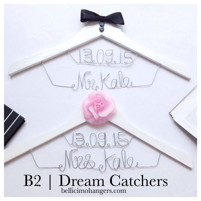 Couple Package by Bellicimo Hangers by Béllicimo Personalized Hanger & Favors - 010