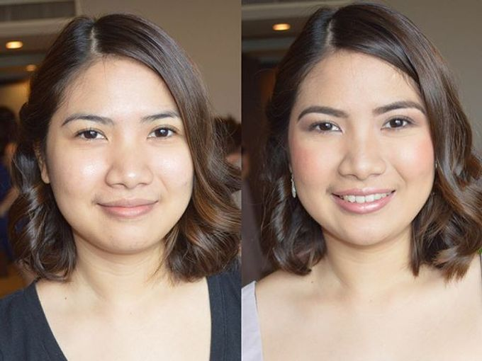 Entourage and Wedding Guests by Sabrina Rimando Makeup Studio - 001