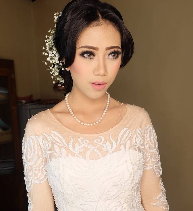 international wedding hijab by White Make Up and Hair Do - 007