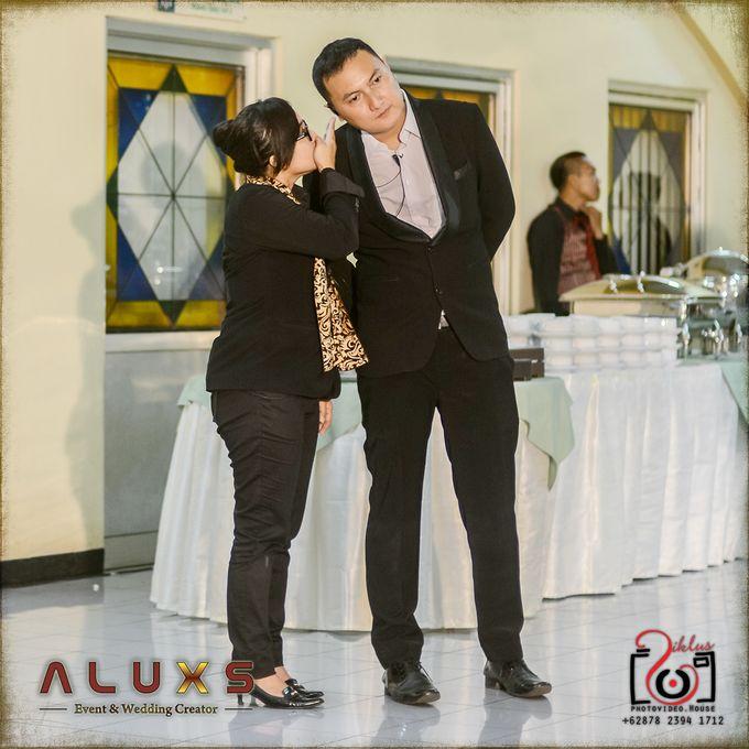 The Wedding of Santa & Khresna by Alux's Event & Wedding Creator - 022