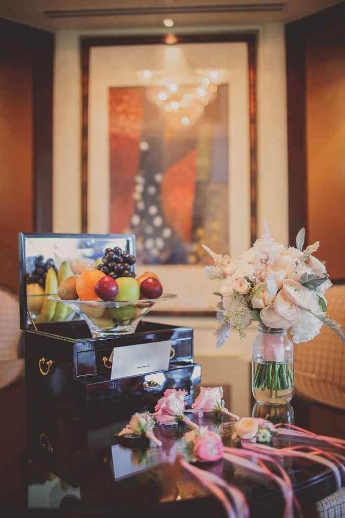 Wedding at Shangrila by Shangri-La Hotel Singapore - 002