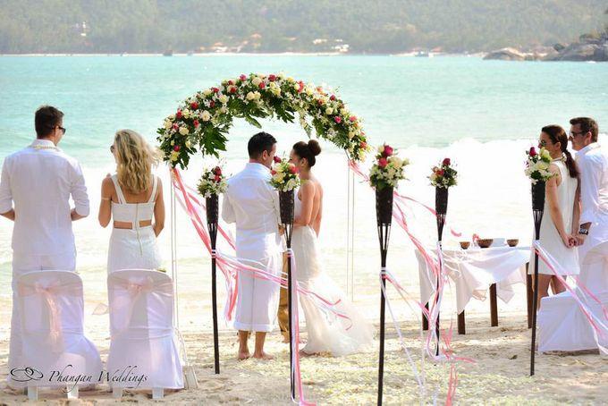 7aebcb40e48f Add To Board Sunset Beach Wedding on Thong Nai Pan Noi Koh Phangan by  Phangan Weddings - 004