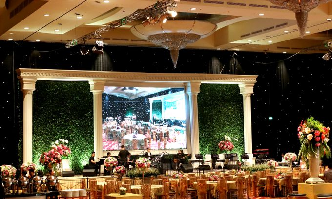 The wedding of Aby and Arsila by Amarillis Floral and Party Decorator - 005
