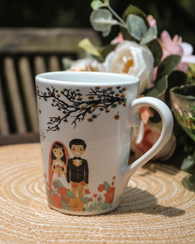 Rino & Amanda by Mug-App Wedding Souvenir - 001