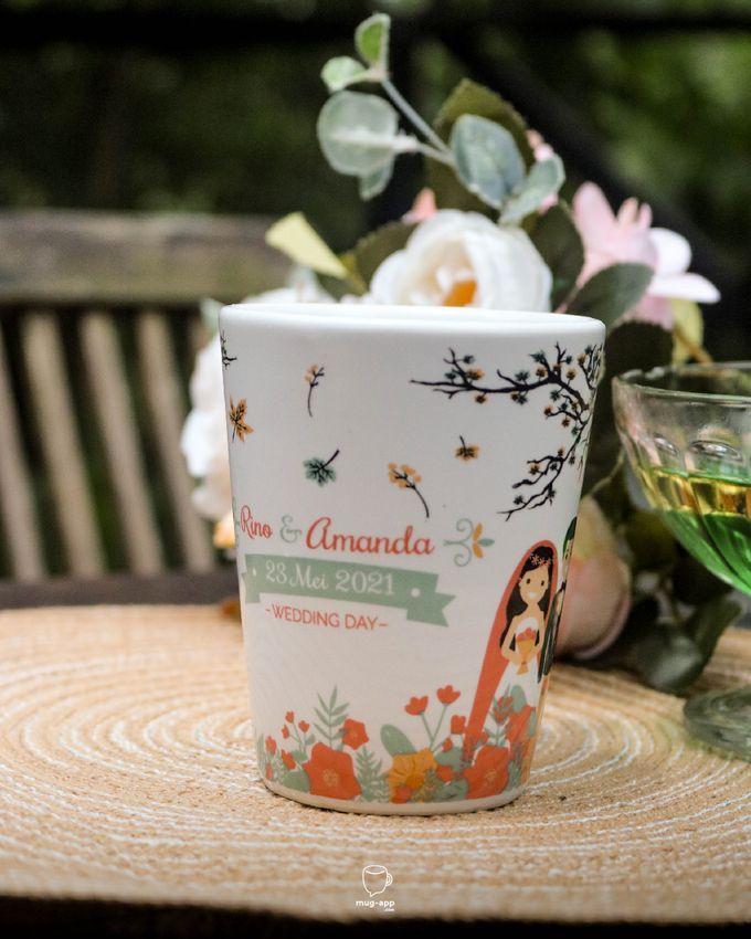 Rino & Amanda by Mug-App Wedding Souvenir - 002