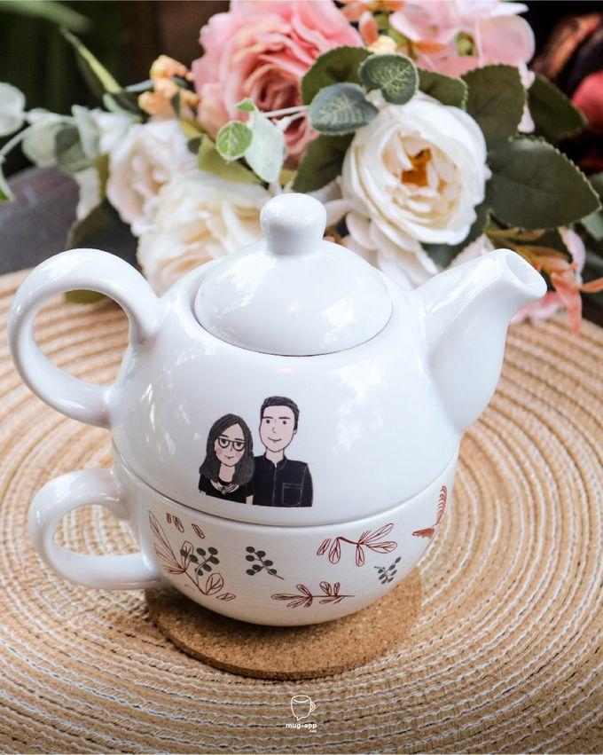 Tekosusun Wedding Character by Mug-App Wedding Souvenir - 001