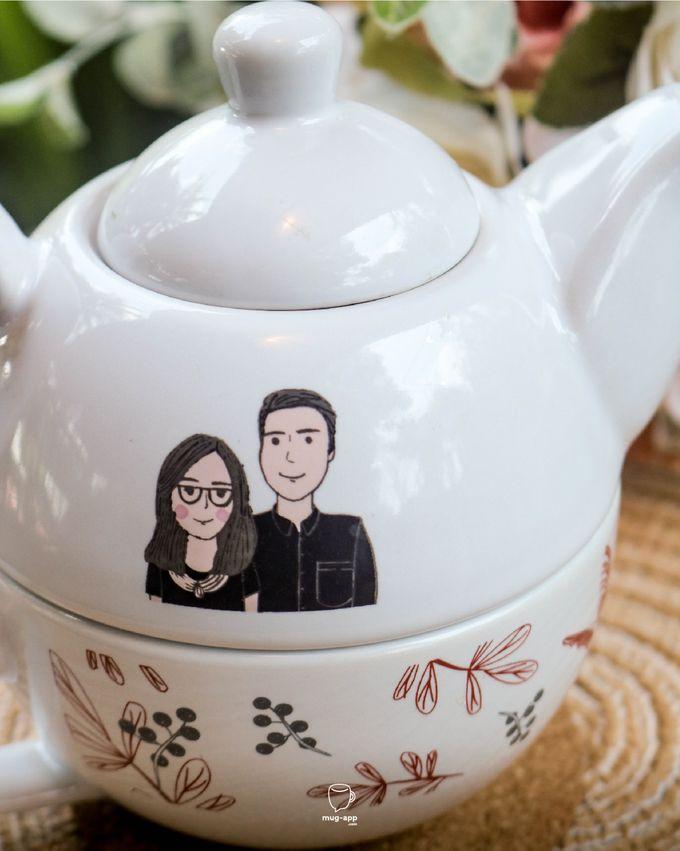 Tekosusun Wedding Character by Mug-App Wedding Souvenir - 002