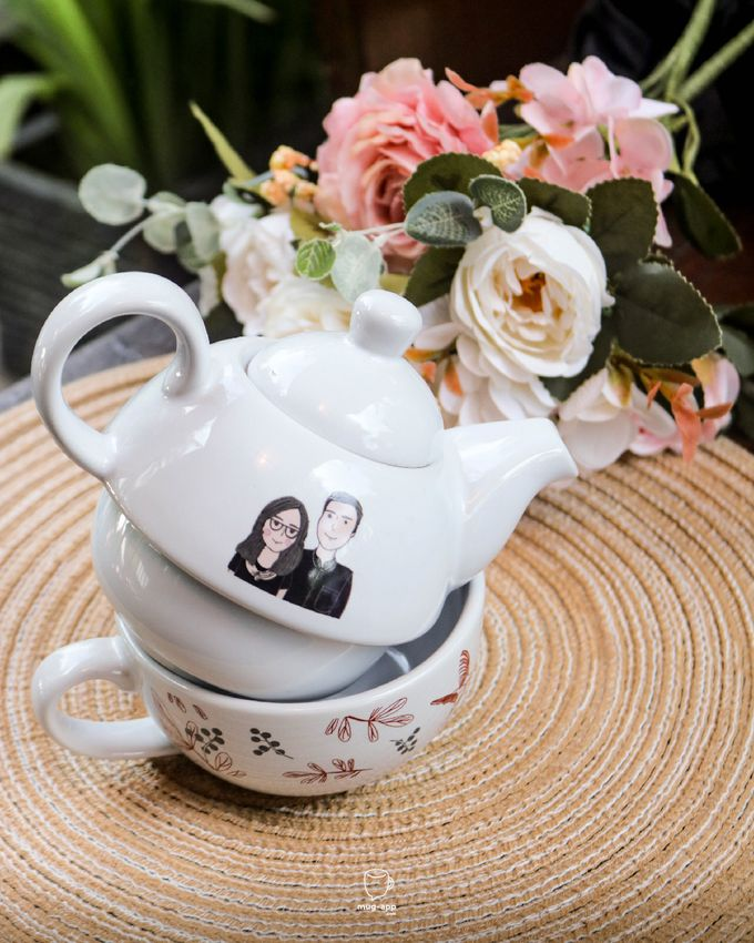 Tekosusun Wedding Character by Mug-App Wedding Souvenir - 009