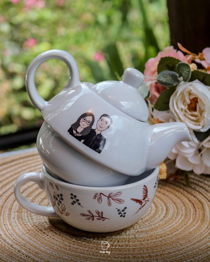 Tekosusun Wedding Character by Mug-App Wedding Souvenir - 010