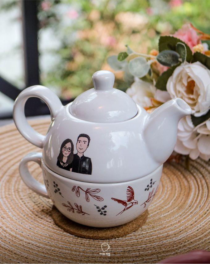 Tekosusun Wedding Character by Mug-App Wedding Souvenir - 011