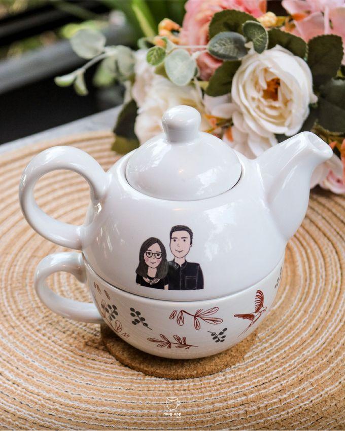 Tekosusun Wedding Character by Mug-App Wedding Souvenir - 012