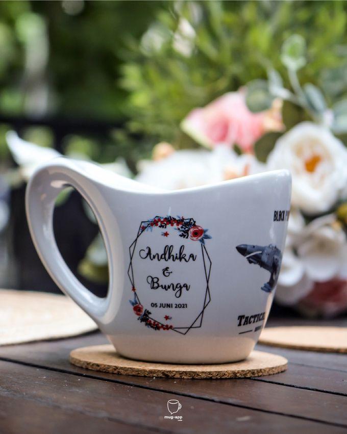 Andhika & Bunga by Mug-App Wedding Souvenir - 004