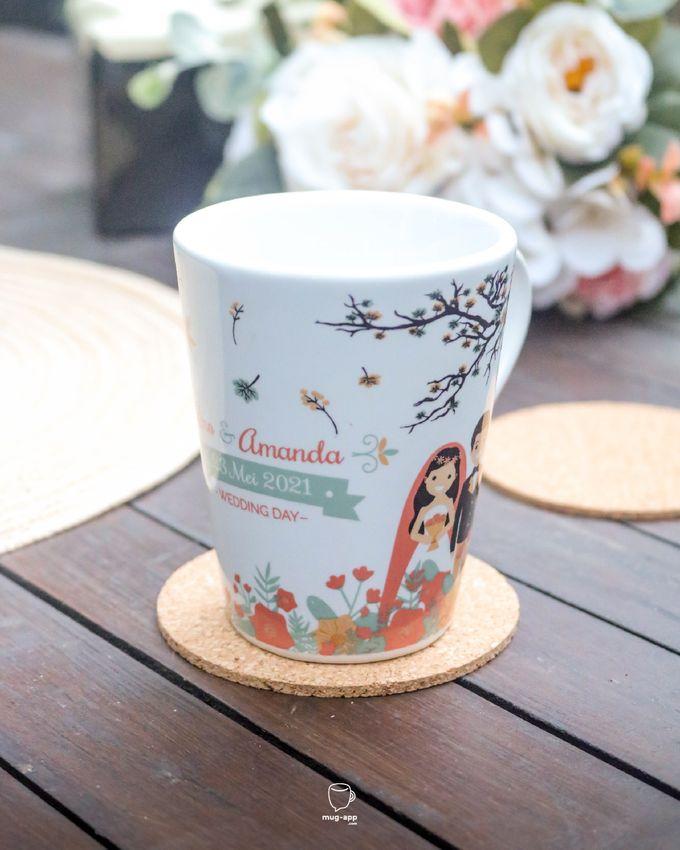 Rino & Amanda by Mug-App Wedding Souvenir - 004