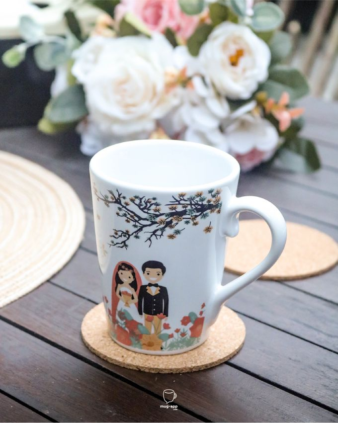 Rino & Amanda by Mug-App Wedding Souvenir - 006