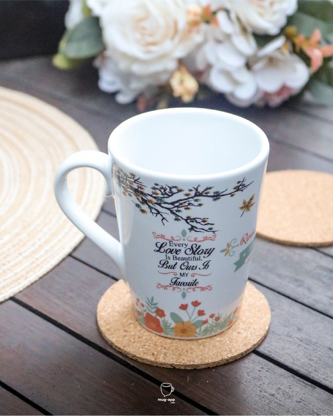 Rino & Amanda by Mug-App Wedding Souvenir - 008
