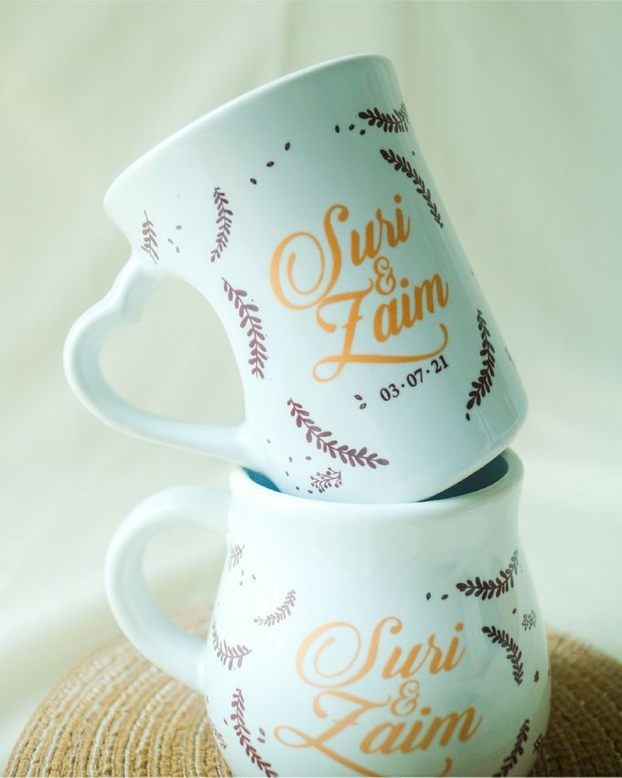 Suri & Zaim by Mug-App Wedding Souvenir - 001