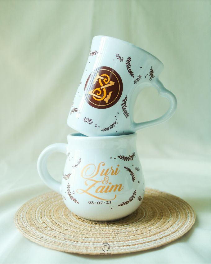 Suri & Zaim by Mug-App Wedding Souvenir - 003