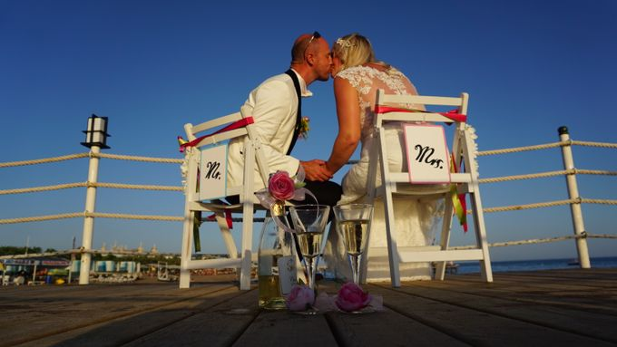 Wedding by the sea in Antalya -Lucy & Daniel- by Wedding City Antalya - 021