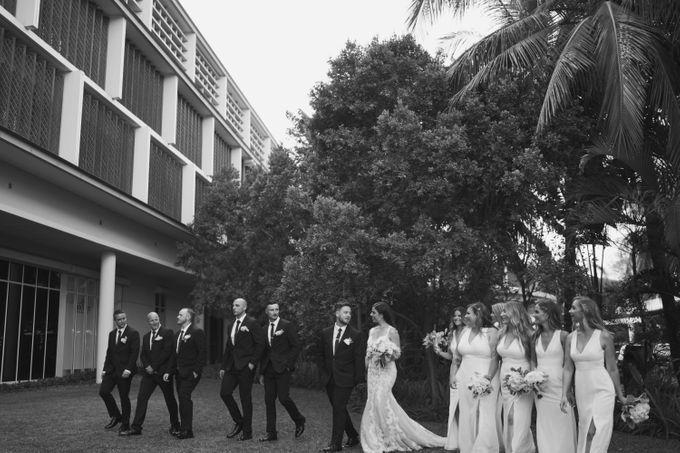 Mindy & Cameron Wedding at W Hotel Bali by AKSA Creative - 022