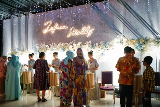 Wedding Shelly & Zafran by Indonesia Convention Exhibition (ICE) - 004