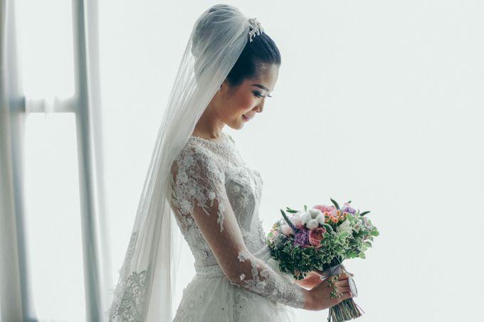 Tomas & Asti Jakarta Wedding by Ian Vins - 012