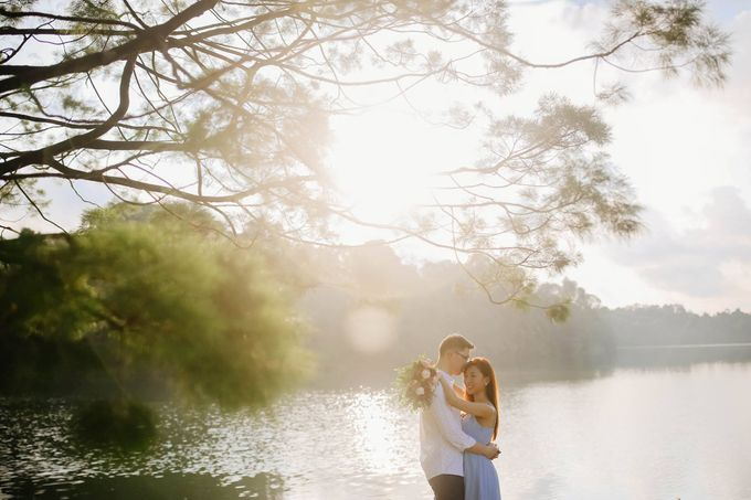 Pre-wedding of  Leon & Kai Xuan by Natalie Wong Photography - 004