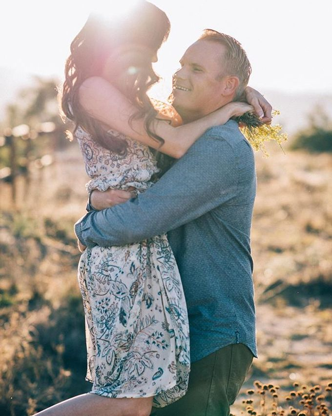 Pioneertown Engagement The Desert is Full of Wildflowers and Lovebirds by Pretty Branch Wedding Photo & Video - 007