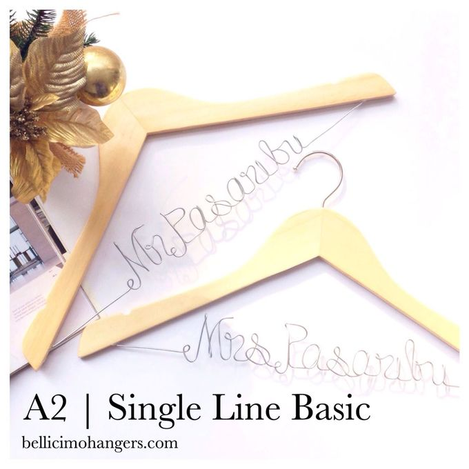 Couple Package by Bellicimo Hangers by Béllicimo Personalized Hanger & Favors - 002