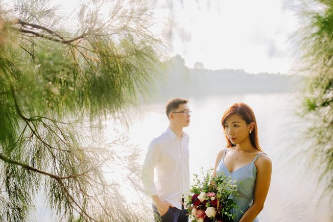 Pre-wedding of  Leon & Kai Xuan by Natalie Wong Photography - 005