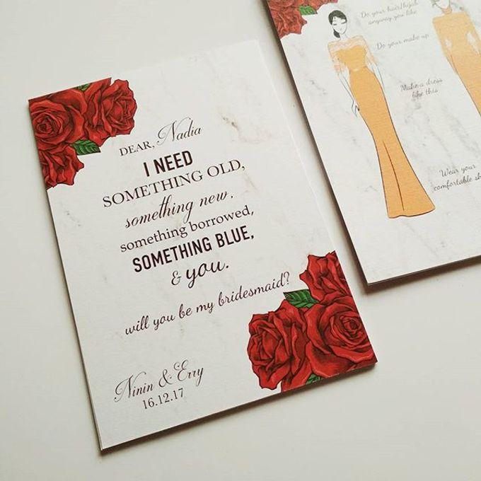 Bridesmaids Attire Guide Card By Packa Studio Bridestory Com