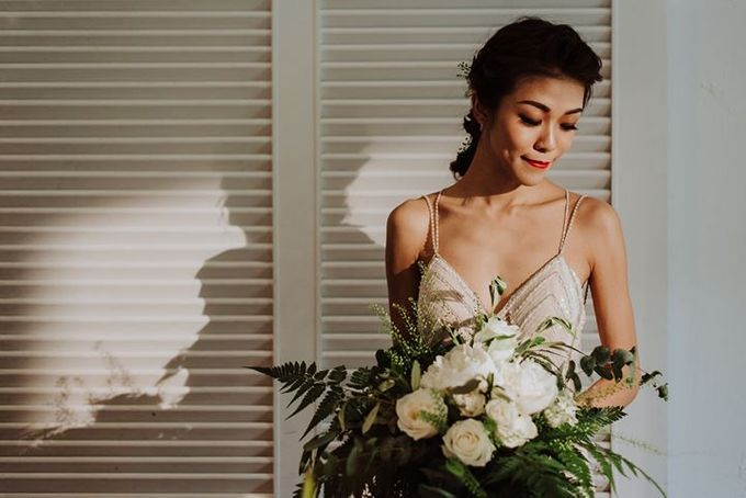 Contemporary Botanic Styled Shoot by Amperian - 034