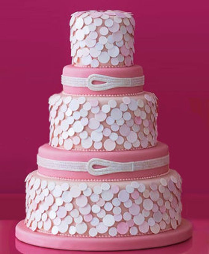 3 layers wedding cakes by LeNovelle Cake - 004