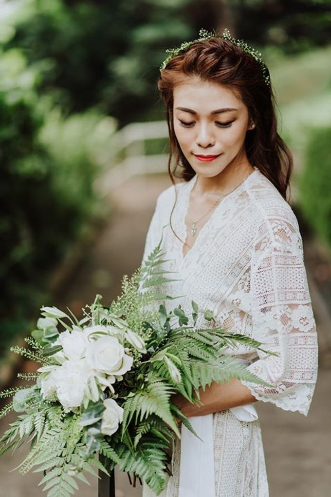 Contemporary Botanic Styled Shoot by Amperian - 019