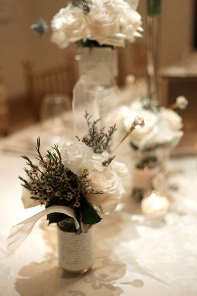 'Eloquence' by Tea Rose Wedding Designer - 024