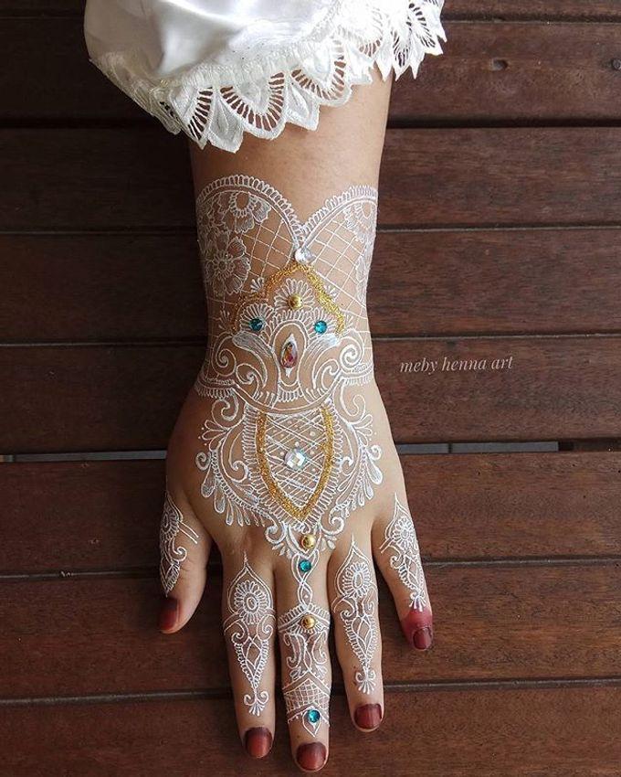 White Henna by Meby Henna Art - 004