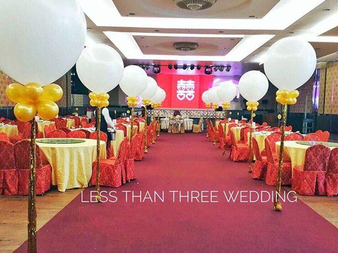Wedding decoration by Less Than Three Wedding - 021
