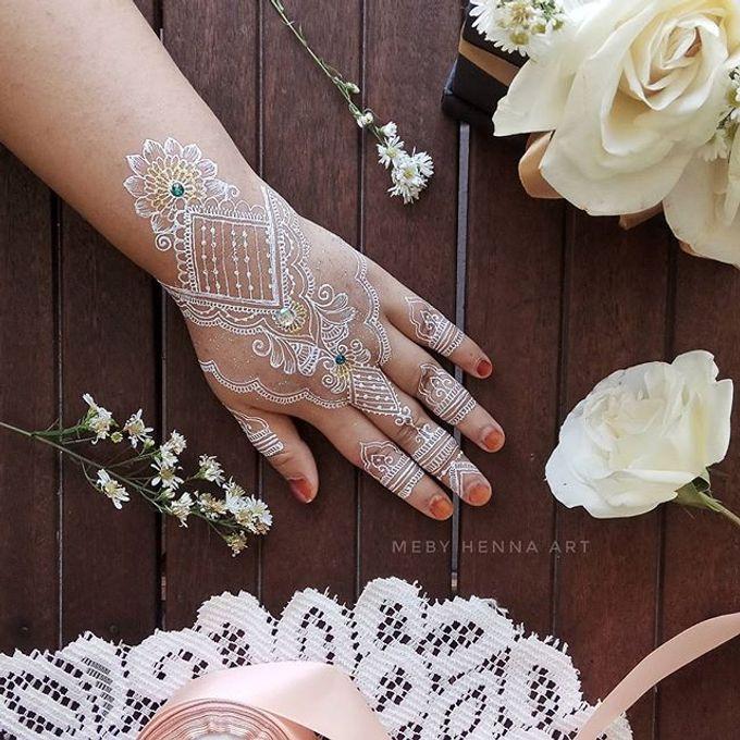 White Henna by Meby Henna Art - 003