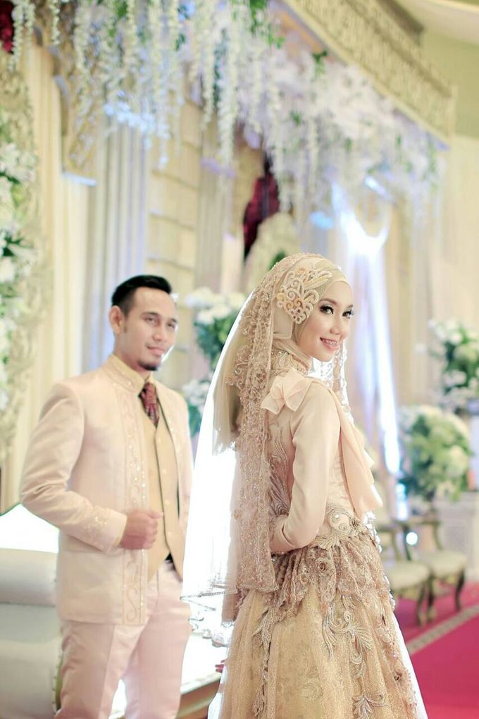 Nia & Fifin Wedding by LAKSMI - Kebaya Muslimah & Islamic Bride - 001