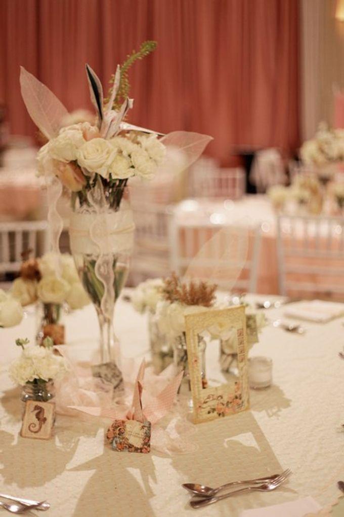 our kind of pink by Tea Rose Wedding Designer - 006