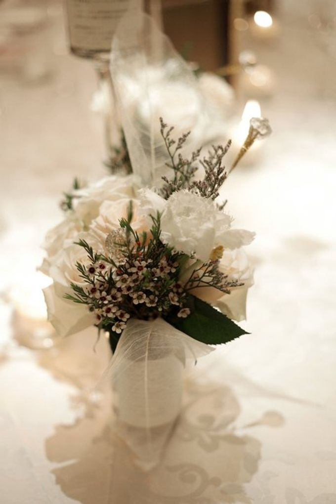 'Eloquence' by Tea Rose Wedding Designer - 023
