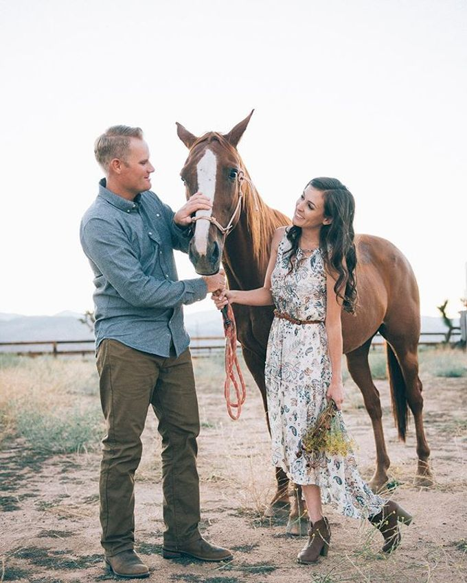 Pioneertown Engagement The Desert is Full of Wildflowers and Lovebirds by Pretty Branch Wedding Photo & Video - 006