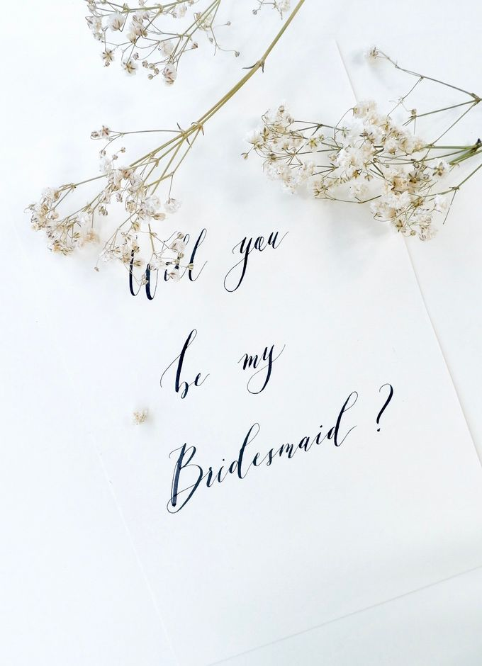 Calligraphy by Atelier Plum - 006