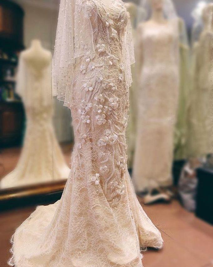 Ivory Wedding Gown  by FANNY KARTIKA - 004