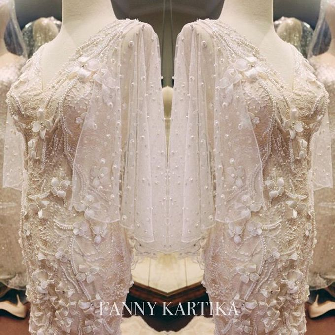 Ivory Wedding Gown  by FANNY KARTIKA - 005