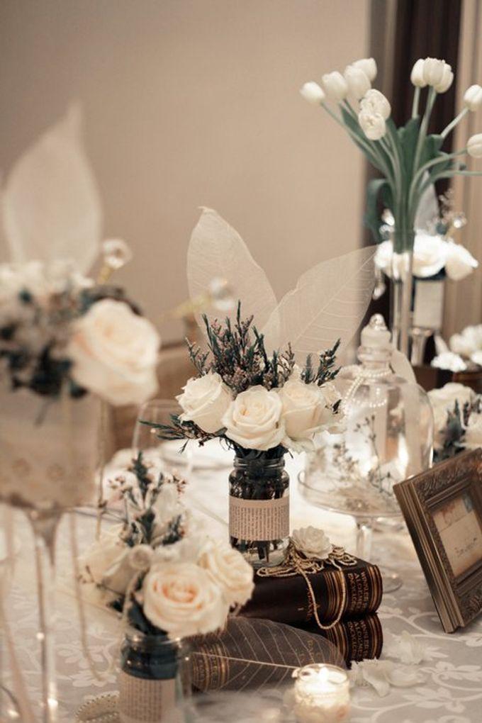 'Eloquence' by Tea Rose Wedding Designer - 025