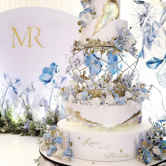 Robert and Michelle Wedding by Orchid Florist and Decoration - 006