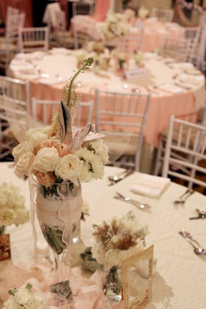 our kind of pink by Tea Rose Wedding Designer - 007