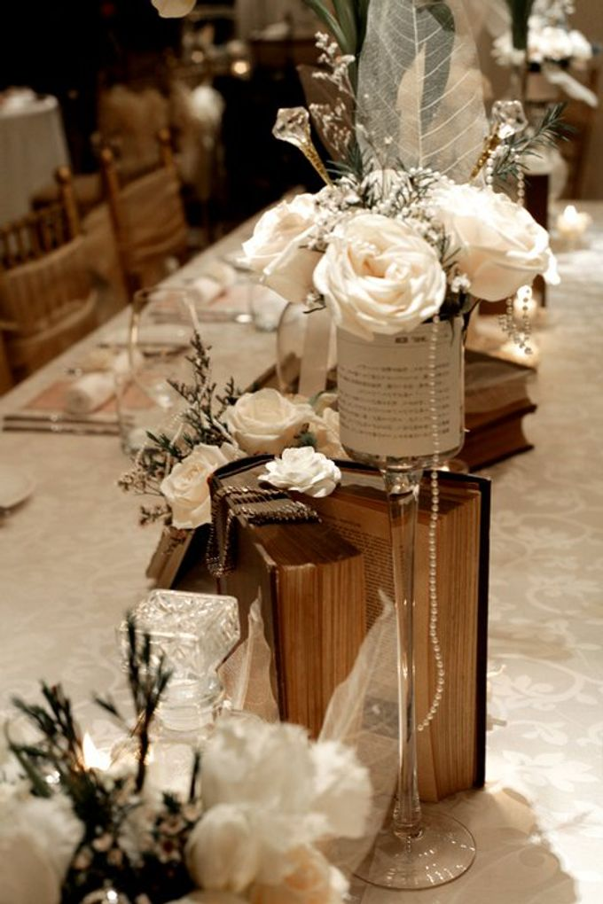 'Eloquence' by Tea Rose Wedding Designer - 019