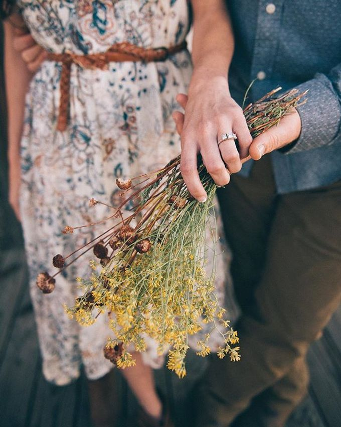 Pioneertown Engagement The Desert is Full of Wildflowers and Lovebirds by Pretty Branch Wedding Photo & Video - 005